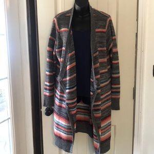 Torrid striped long cardigan